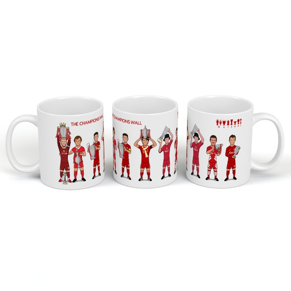 The Champions Wall - Drinking Mug **PRE ORDER - 21st Sept Earliest Dispatch**