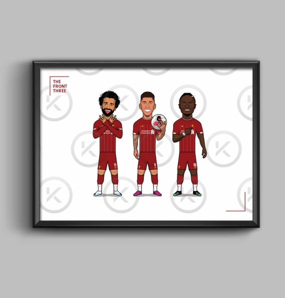 The Front Three - (Salah, Firmino, Mane) **2019/20**