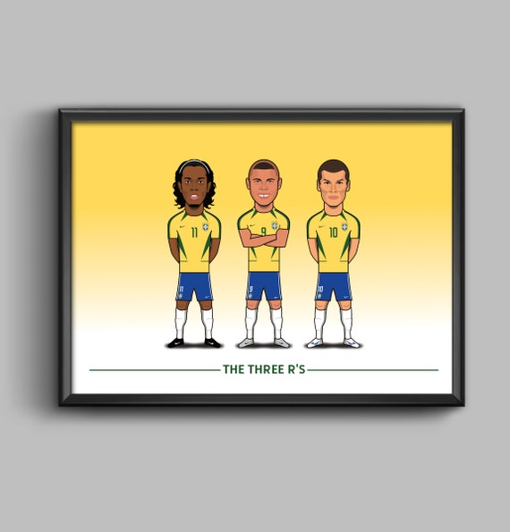 The Three R's (Ronaldinho, Ronaldo, Rivaldo)