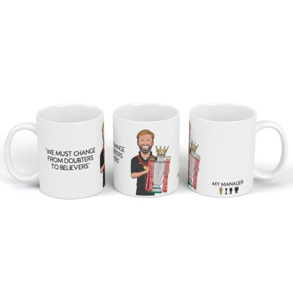 Jurgen Klopp PL Winner My Manager - Drinking Mug
