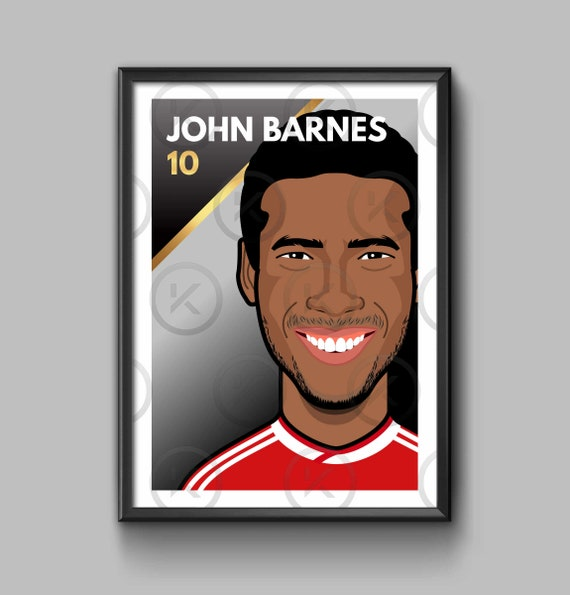 Legend: John Barnes - Portrait