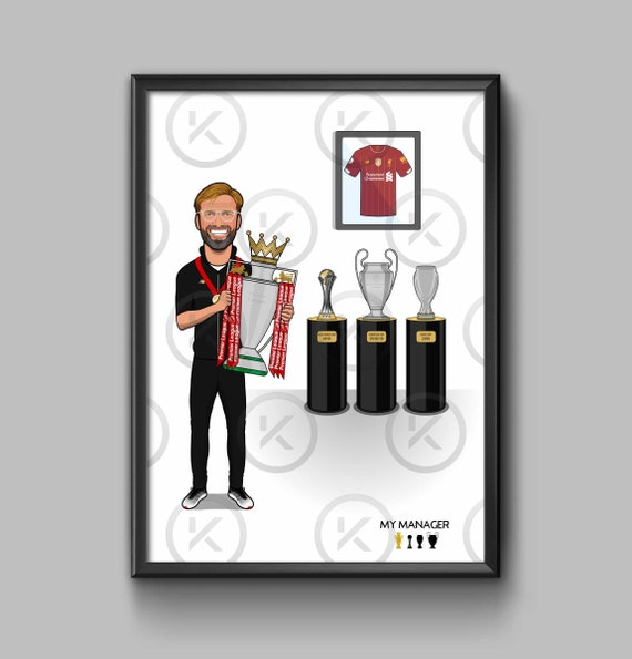 Jurgen Klopp PL Winner - My Manager