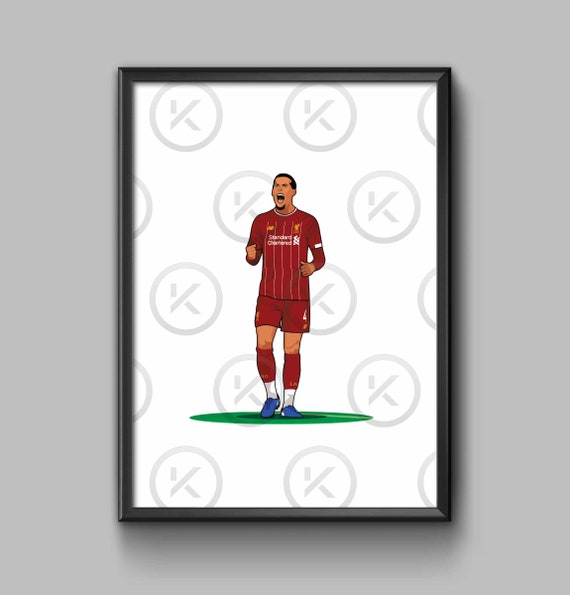 On the Pitch  - Virgil van Dijk