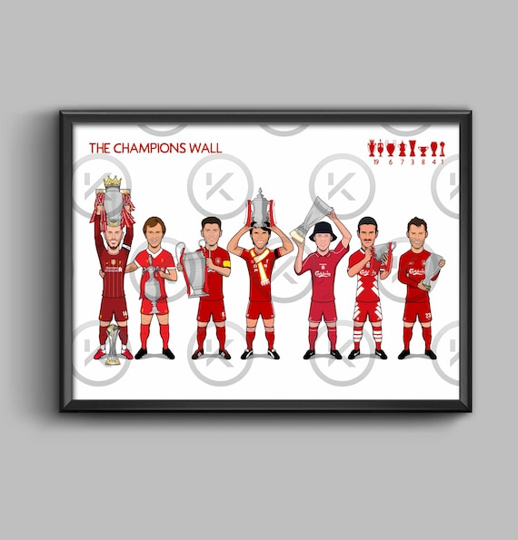 The Champions Wall - Liverpool FC