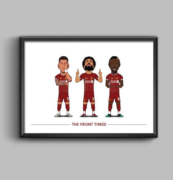 The Front Three (Firmino, Salah, Mane) **2019/20**