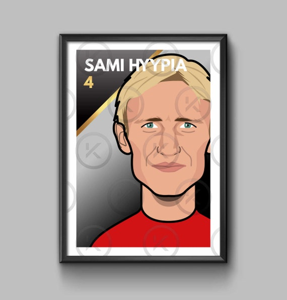 Legend: Sami Hyypia - Portrait