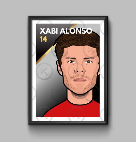 Legend: Xabi Alonso - Portrait