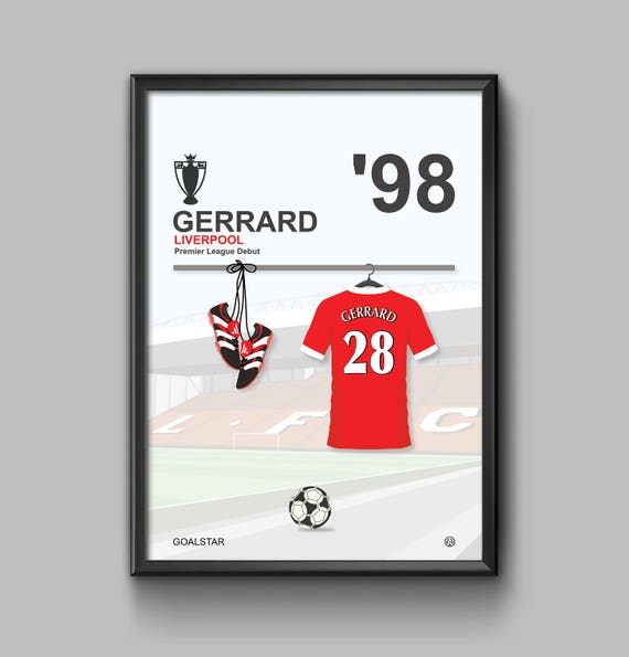 Steven Gerrard 98 - Debut ***LIMITED EDITION***
