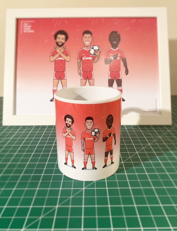 The Front Three 1989 Home (Retro Kit) - Drinking Mug **SPECIAL EDITION**