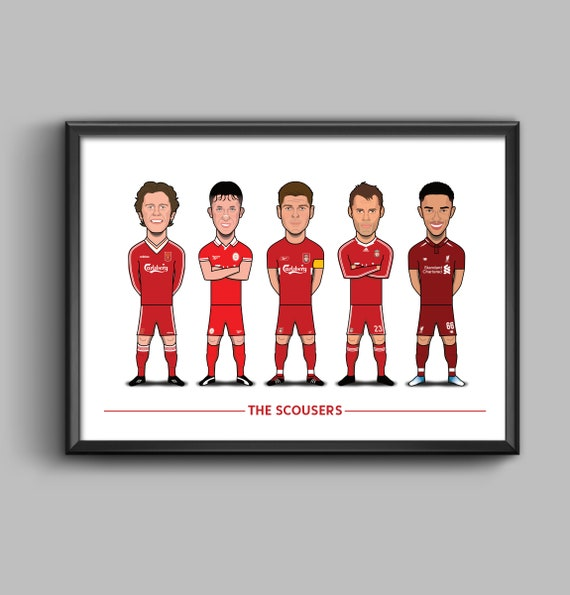 The Scousers (McManaman, Fowler, Gerrard, Carragher, Trent)