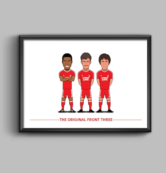 The Original Front Three (Barnes, Aldridge, Beardsley)