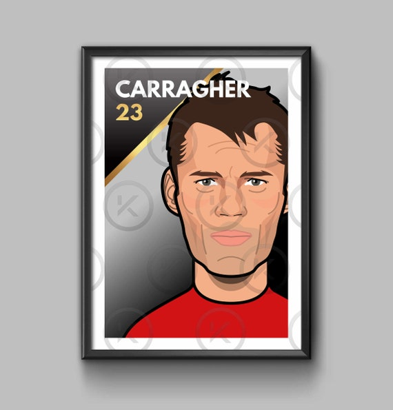 Legend: Jamie Carragher - Portrait