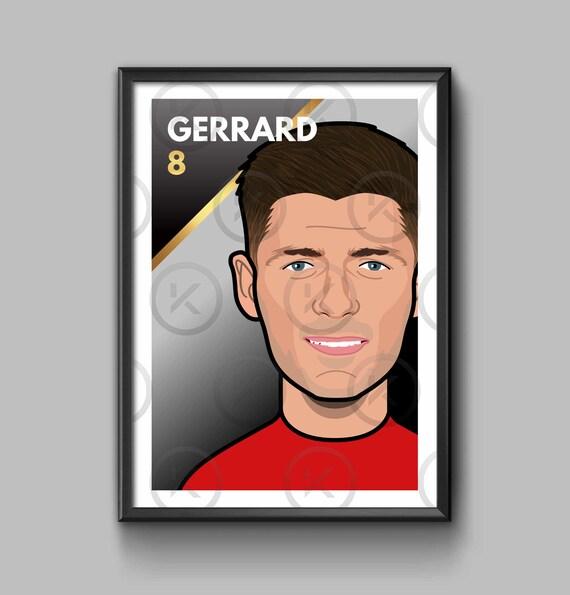 Legend: Steven Gerrard - Portrait