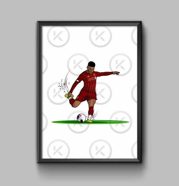 On the Pitch  - Alex Oxlade-Chamberlain Strike