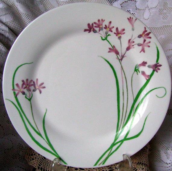 Martha Stewart Everyday Pacific Wildflower Dinner Plate French Etsy