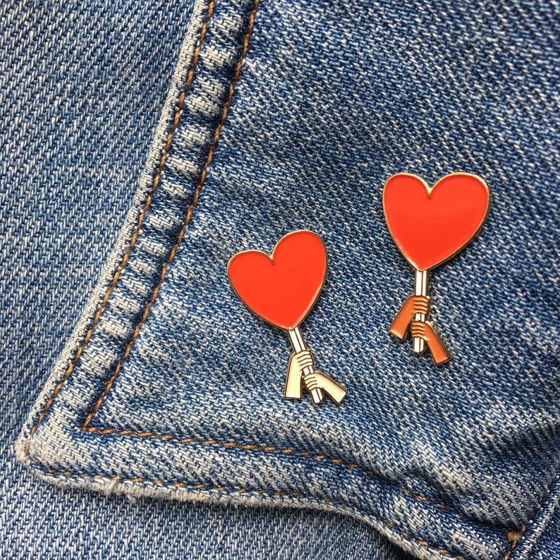 Love Is Power Enamel Pin, Charity pin, rally pin, heart pin, soft enamel,  lapel pin, flair, hat pin, protest pin, backpack pin, pin game