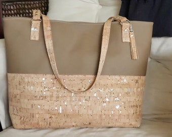 Handbags Cork Leather