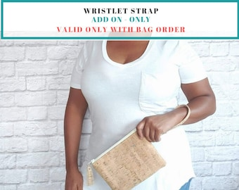 Wristlet Strap Add-On (Only available with bag order)