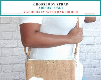 Crossbody Strap Add-On (Only available with bag or wristlet order)