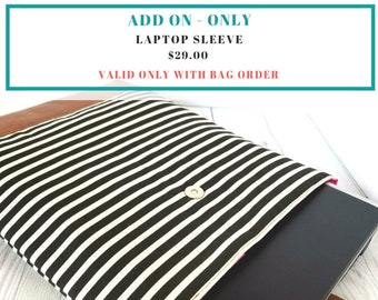 Laptop Sleeve - Add-On (Only)
