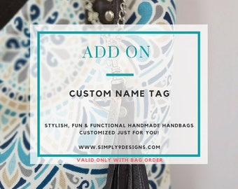 Custom Name Tag Add-On (Only)