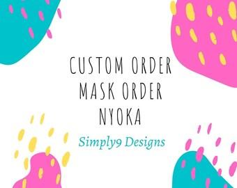 Custom Listing For Nyoka (Only)