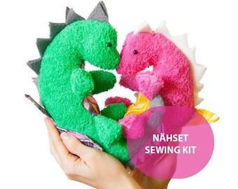 DIY Sewing Set Dinosaur Geoffrey and Georgina #MoiMemeHamburg