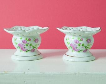 Bougeoir en porcelaine belle 2