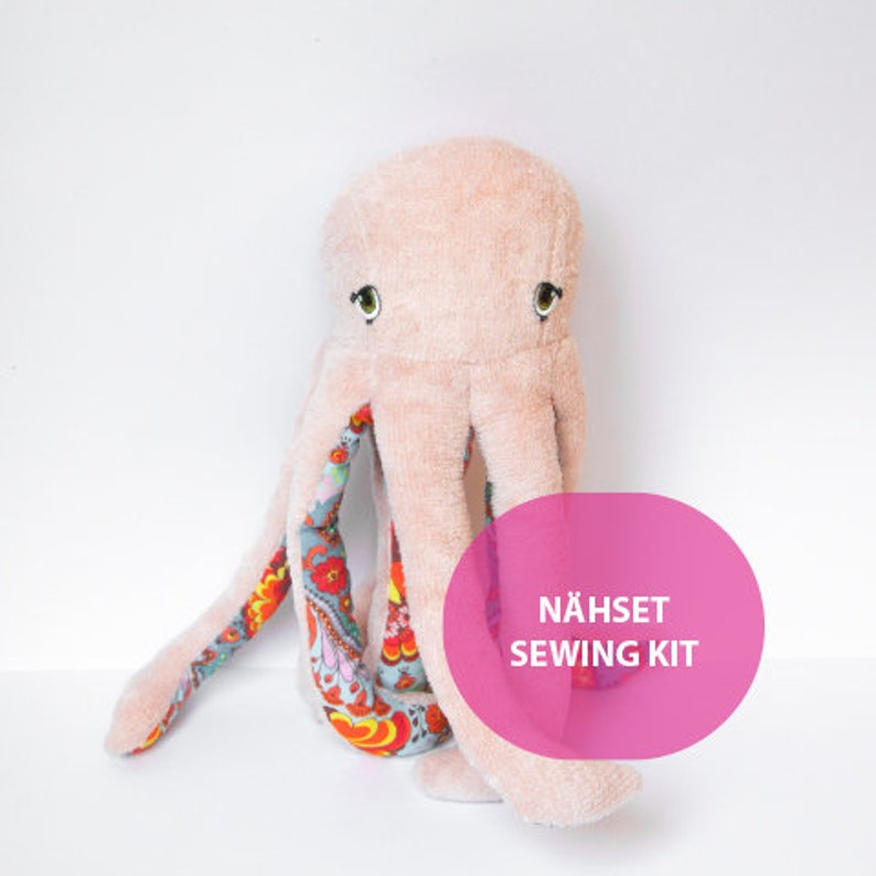 DIY Sewing Set Octopus Odette MoiMemeHamburg image 0