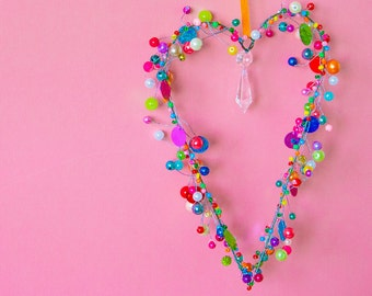 Beautiful Pearl Heart