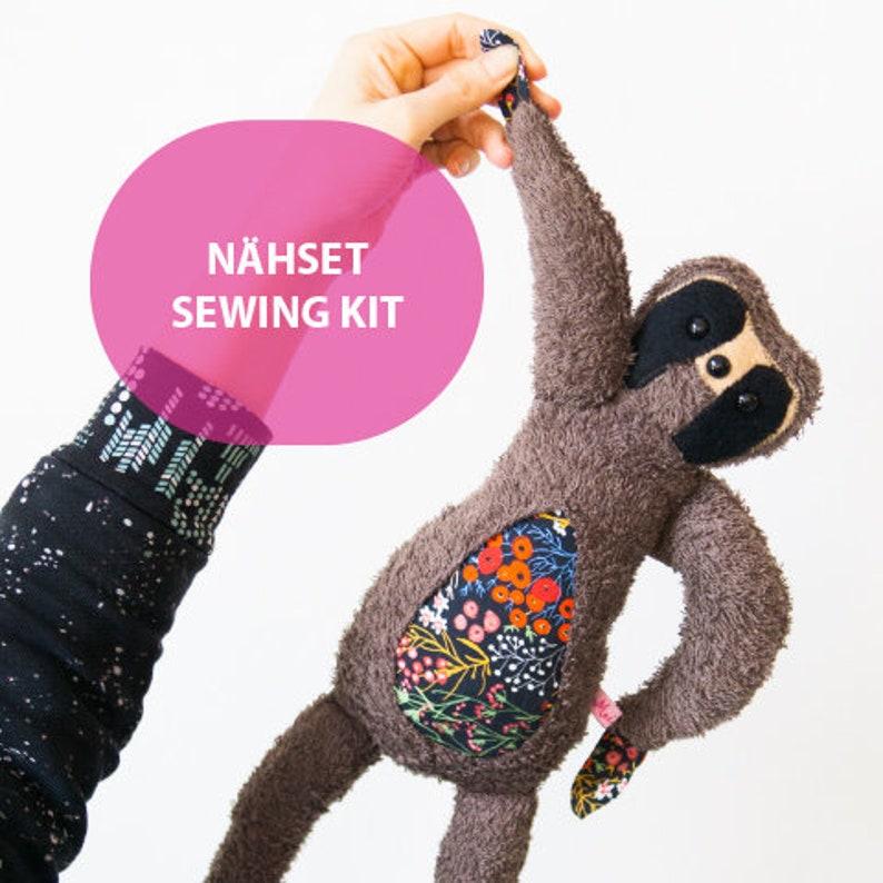 DIY Sewing Set Sloth Lu MoiMemeHamburg image 0