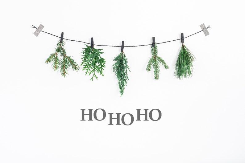 Ho Ho Ho Decor ~ Xmas Wall Decor ~ Ho Ho Ho ~ Christmas Decor ~  Christams Wall Stickers ~ Christmas Wall Decal ~ Scandi Christmas Decor ~