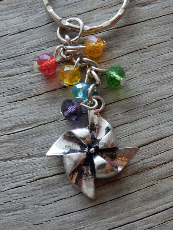 Windmill Key Ring Traditional Gift Stocking Filler