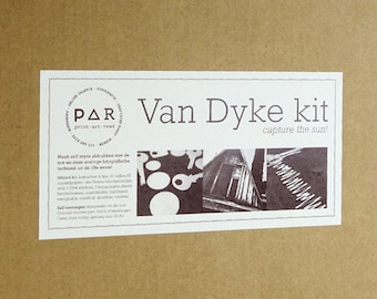 DIY Van Dyke kit - analogue photography - love brown - capture the sun - instructions in french, german, english, dutch