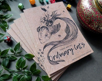Artbook | There are no ordinary Cats, Art Collection, Sketch Artbook, Fantasy Art, Fantasy Cats, Cat Knights, D&D