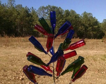 1 Crooked Persimmon Bottle Tree  (Bottles Not Included) FREE SHIPPING Priority Mail
