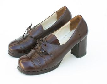 04534d8d227 Vintage 70s Platform Shoes
