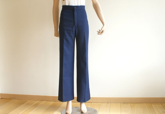 Vintage LEVI'S High Waisted Navy Trousers