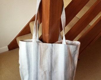 Large Tote Bag - Everyday - Classic Design - Handmade - Shopping - Versatile