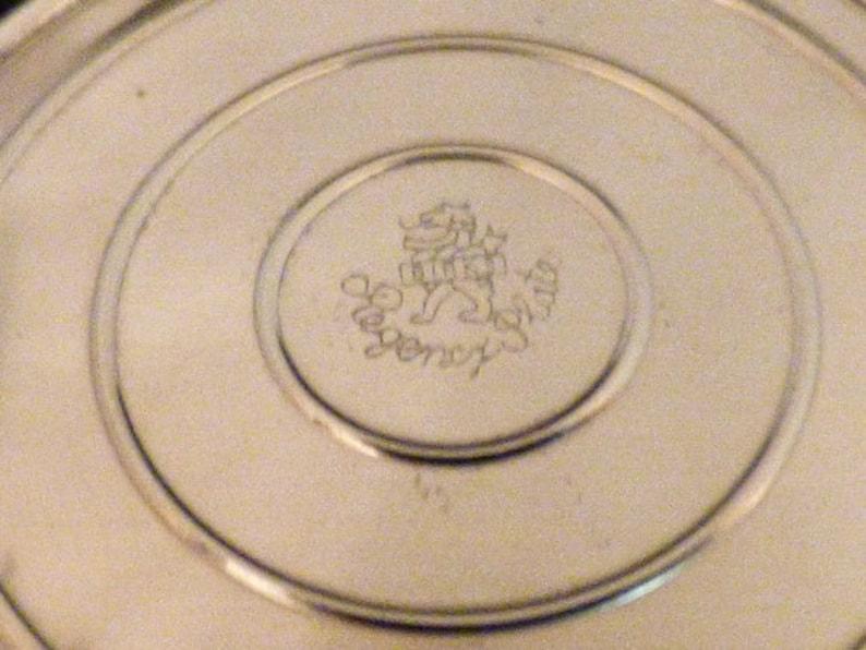Birks Regency Lion Dome Ring Box; Single Ring Slot; NWOT