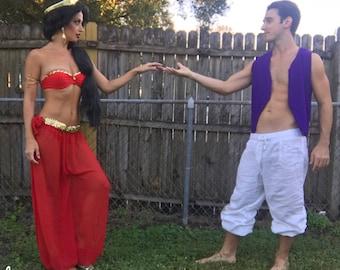 Princess Jasmine Red Costume