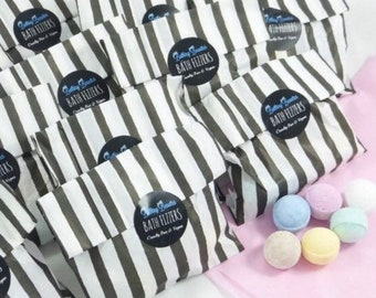 Bath Fizzer Bags, Mini Bath Bombs, Party Favours, Baby Shower Gifts, Friend Gift, Birthday Gift, Gifts & Favours, Kids Party Bags