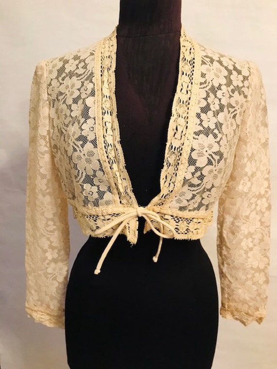 60's Lace Top