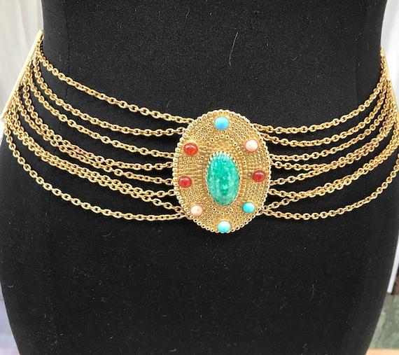 70's Dior belt