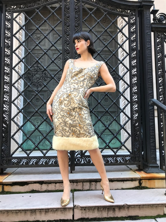 60s Lillie Rubin dress