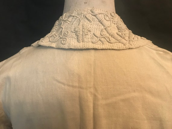 19th Century Embroidered Linen Suit - image 4