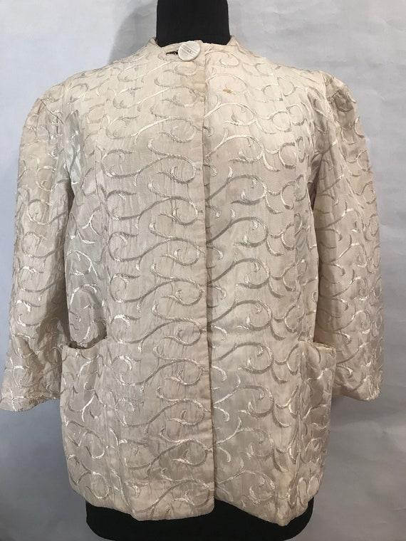 40's Vintage House Coat/Jacket, vintage coat, 40's