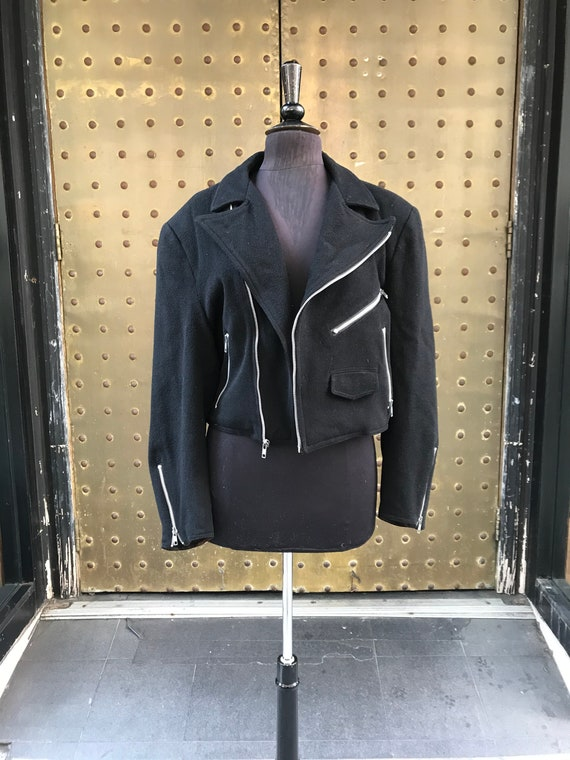 Stephen Sprouse 100% wool jacket