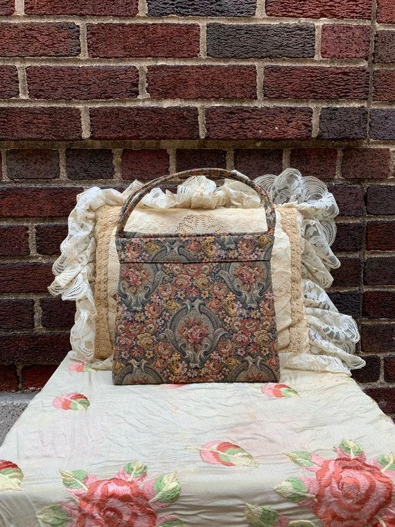 60's tapestry bag