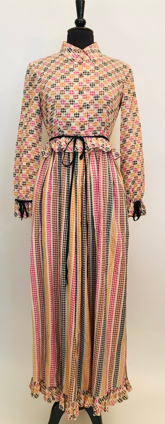 70's Maxi dress